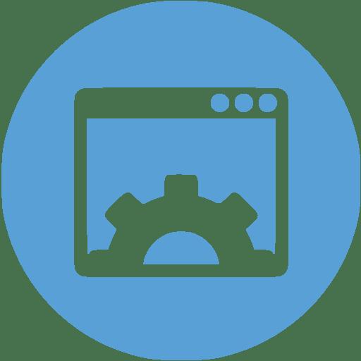 Website Hosting Icon Scene Creative