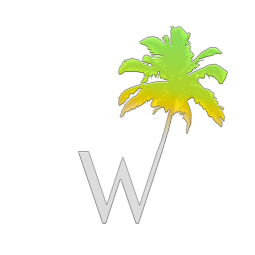 Cropped Final W Palm Only Logo No Background White Website Icon