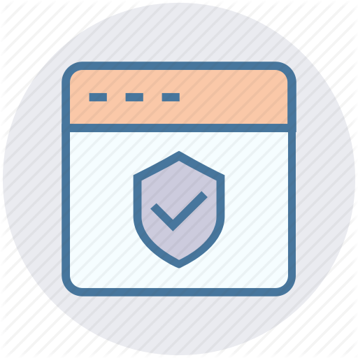 Internet, Protection, Secure, Security, Shield, Webpage, Website Icon