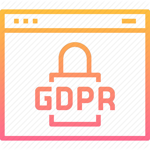 Gdpr, Lock, Page, Protection, Security, Web, Website Icon