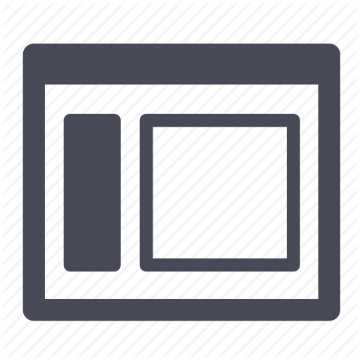 Grid, Header, Layout, Layouts, Menu, Structure, Vertical, Website Icon