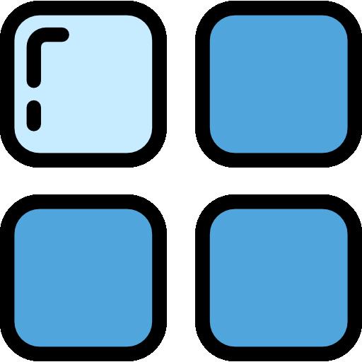 Web Navigation Color Cornflowerblue Icon