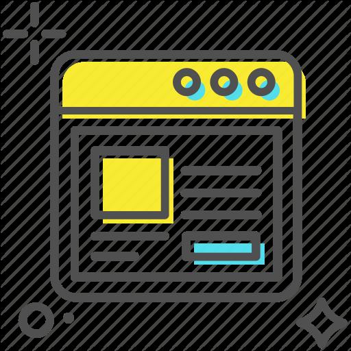 Web Design, Web Layout, Web Page, Web Template, Website Icon
