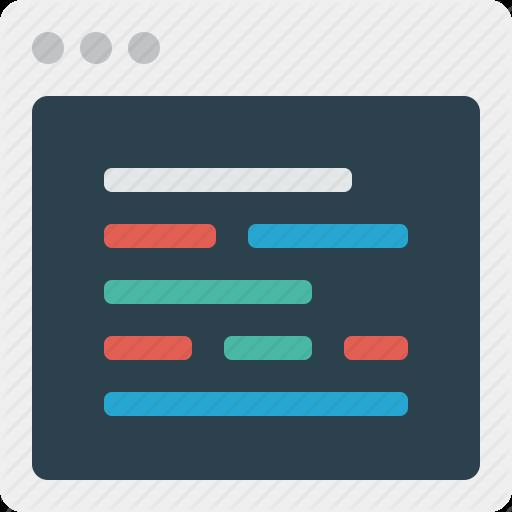 Code, Development, Html, Php, Programing Icon