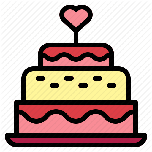 Bakery, Birthday Cake, Cake, Candles, Wedding, Wedding Cake Icon