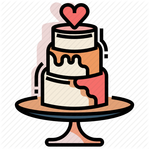 Cake, Dessert, Marriage, Wedding, Wedding Cake Icon