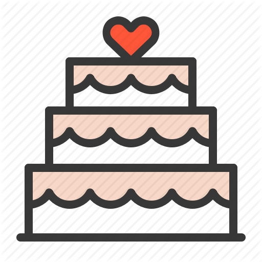 Cake, Love, Wedding, Wedding Cake Icon