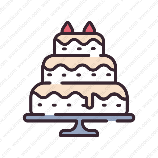 Download Wedding,cake,phing Icon Inventicons