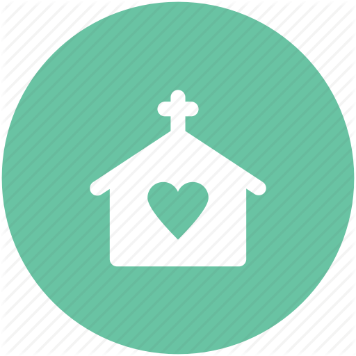 Building, Church, Happiness, Heart Sign, Marriage Service, Wedding