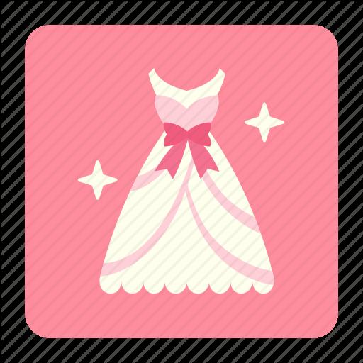 Bride, Clothing, Dress, Glamour, Married, Wedding, Wedding Dress Icon