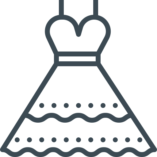 Bride Dress Png Icon