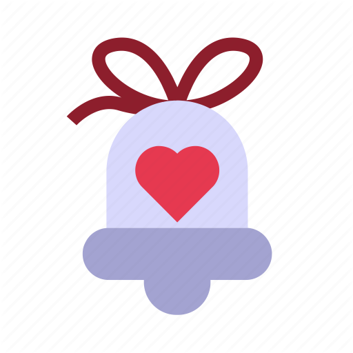 Bell, Love, Married, Romance, Wedding Icon