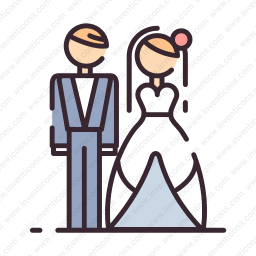 Download Bride,groom,phing Icon Inventicons