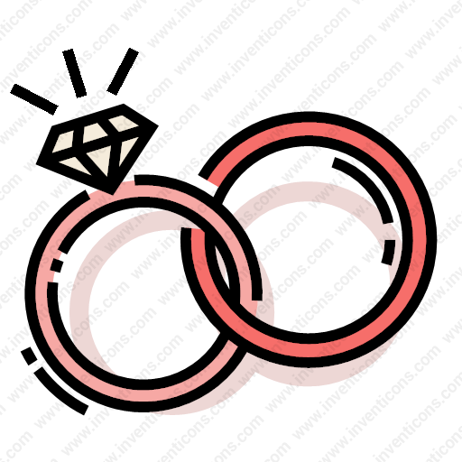 Download Wedding,rings Icon Inventicons