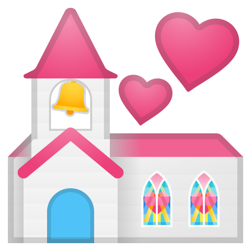 Wedding Icon Noto Emoji Travel Places Iconset Google