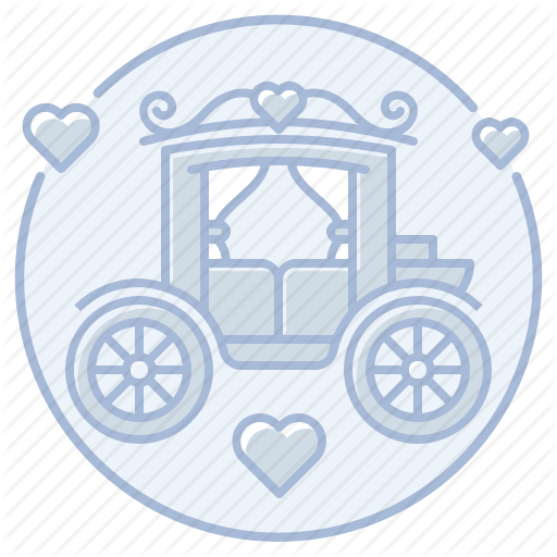 Carriage, Horse Drawn Carriage, Just Married, Marriage, Reception