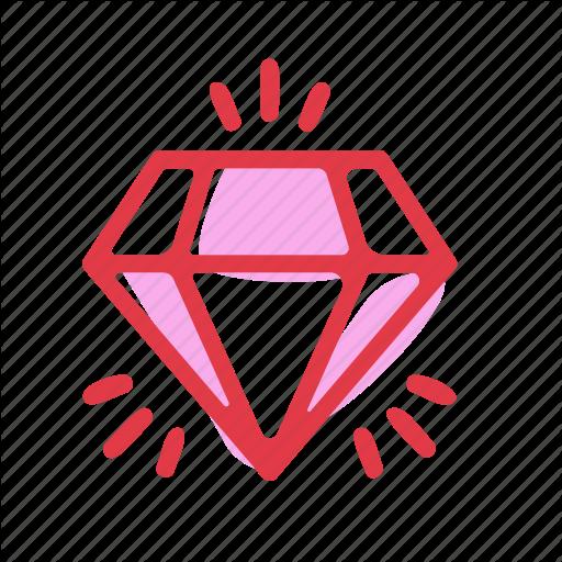 Diamond, Gift, Jewelry, Love, Wedding Icon