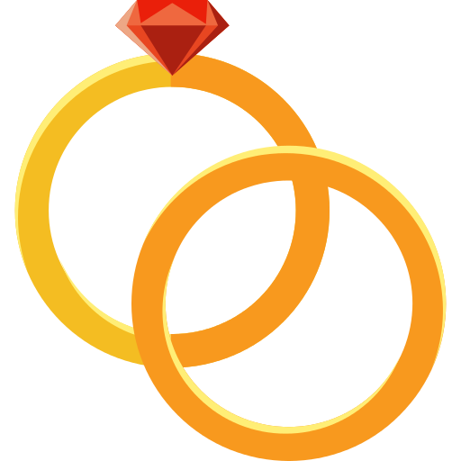 Wedding Rings Png Icon