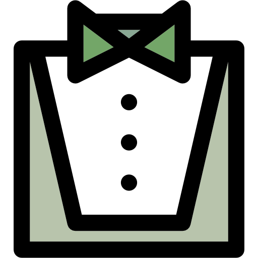Waiter Flat Icon