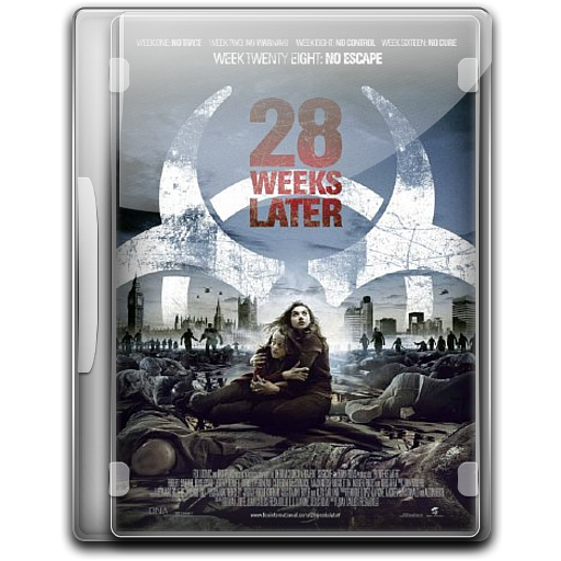 Weeks Later Icon English Movie Iconset Danzakuduro