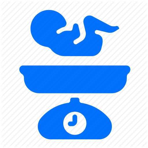 Baby, Measure, Weight Icon