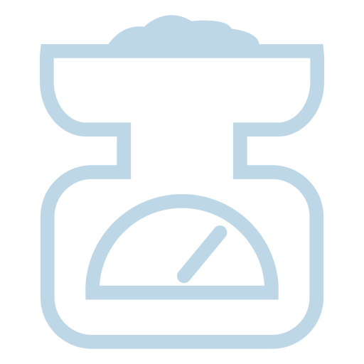Weight Scale Line Icon