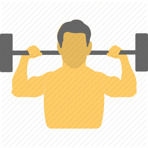 Bodybuilder, Dumbbell, Fitness, Halteres, Weight Lifting Icon