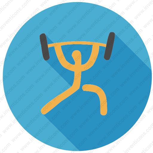 Download Bodybuilder,gym,sport,weightlifting,exercise Icon