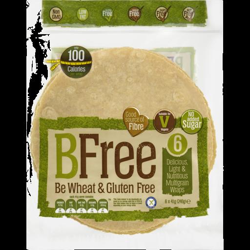 Breakfree Weight Watchers Wrap Multi Grain