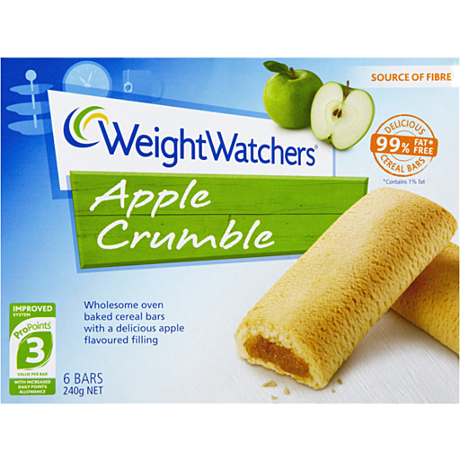 Weight Watchers Bars Apple Crumble Pack
