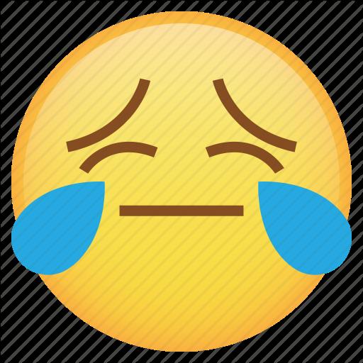 Drop, Emoji, Emoticon, Smiley, Tears, Weird Icon