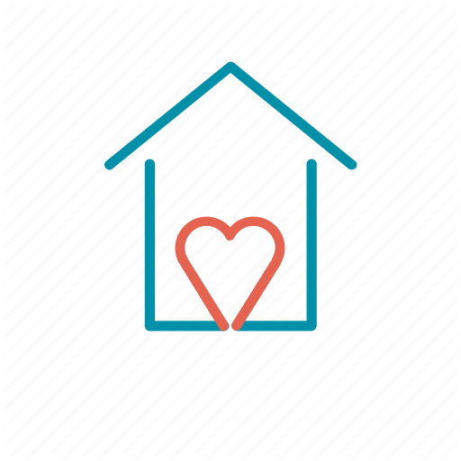 Cozy, Heart, Lovely, Sweet Home, Welcome Icon