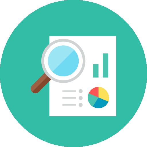 Content Analytics Icon Amawordsdotcom