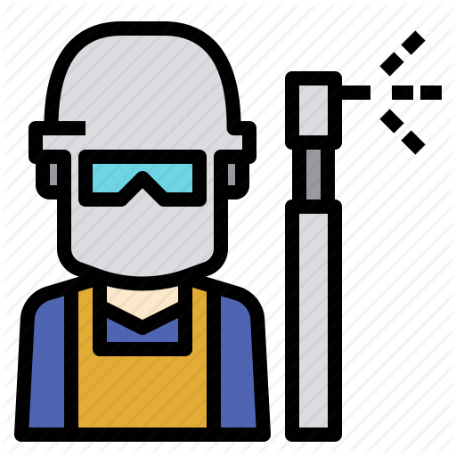 Helmet, Manufacturing, Production, Protection, Welder, Welding Icon