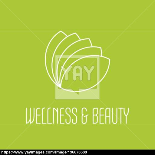 Green Leafs Icon Vector