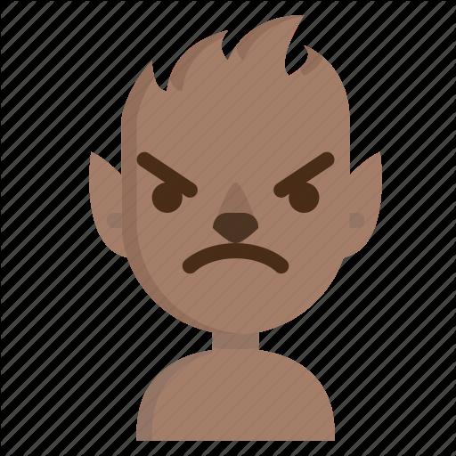 Angry, Avatar, Emoji, Halloween, Horror, Werewolf, Wolf Icon