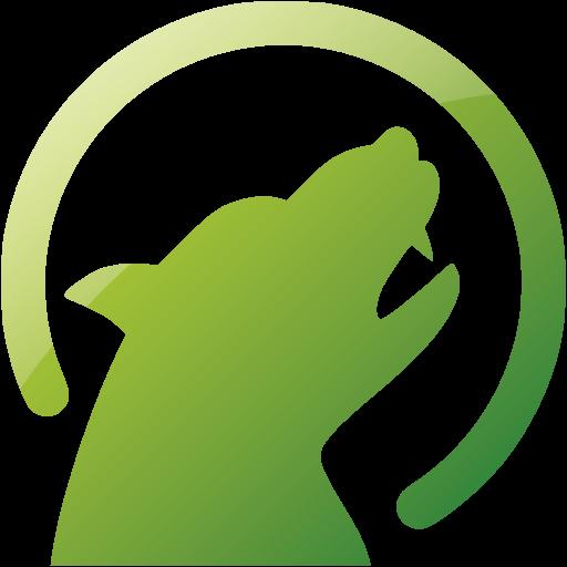 Web Green Werewolf Icon