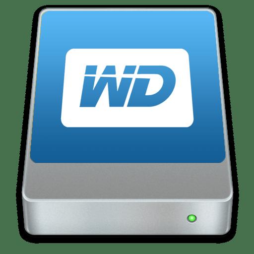Western Digital Drive Icon