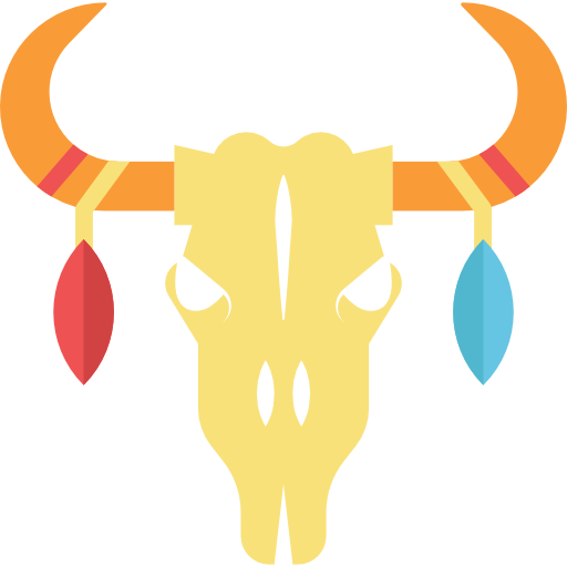 Bull Skull Icons Free Download