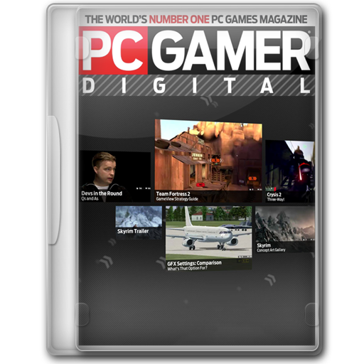 Pc Gamer Digital Icon