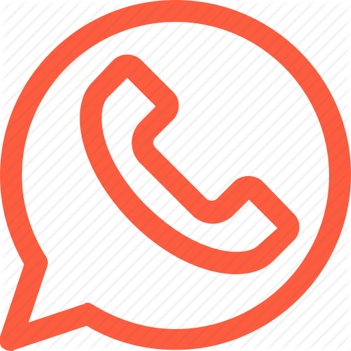 Png Icon Whatsapp Orange Picturesms