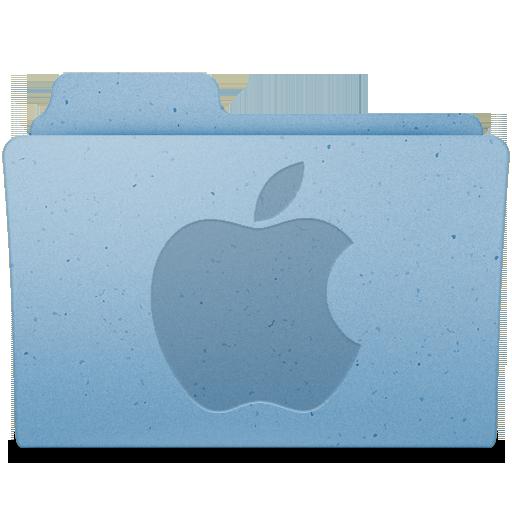 Apple Logo Icon Leopard Extra Folder Iconset Gordon Irving