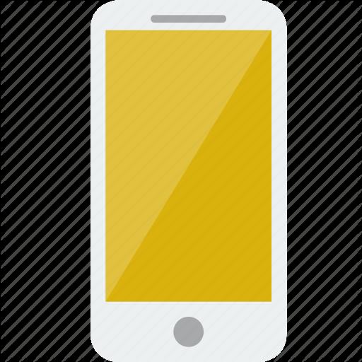 Cellphone, Handphone, Iphone, Phone, Smartphone, White Icon
