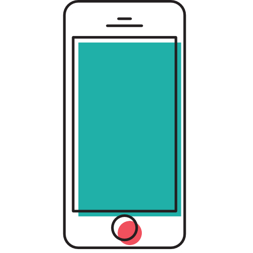 Technology, Smartphone, Touch Screen, Cellphone, Mobile Phone Icon