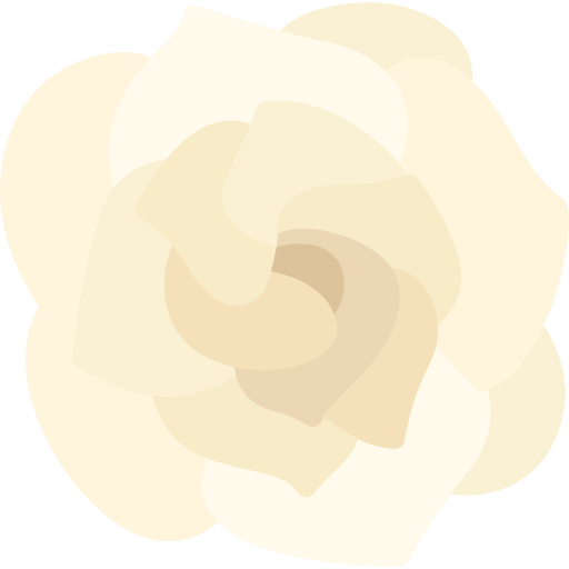 Botanical, Gardenia, Flower, Blossom, Nature, Petals Icon