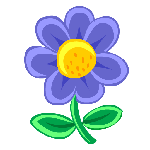 Blue Flower Icon Download Free Icons