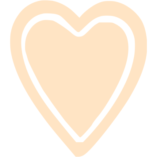 Bisque Heart Icon