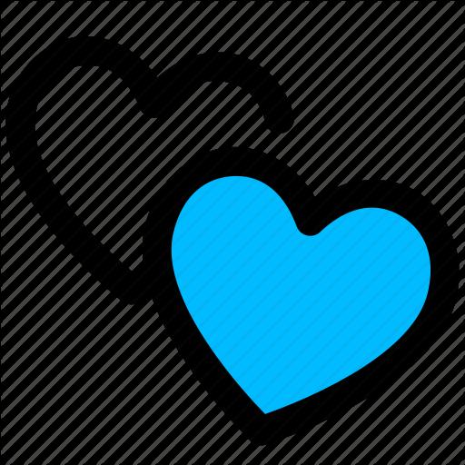Heart, Love, Romance, Valentines Icon