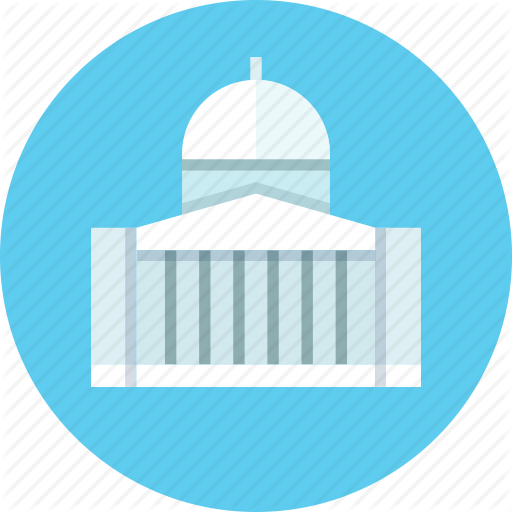Building, Official, Whitehouse Icon