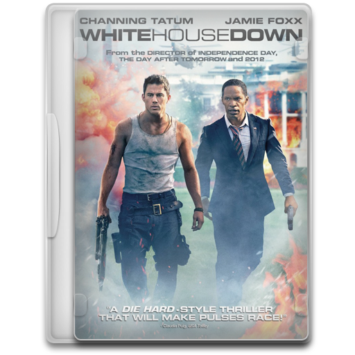 Covers, Cover, White, House, Down, Movie, Movies Icon Free
